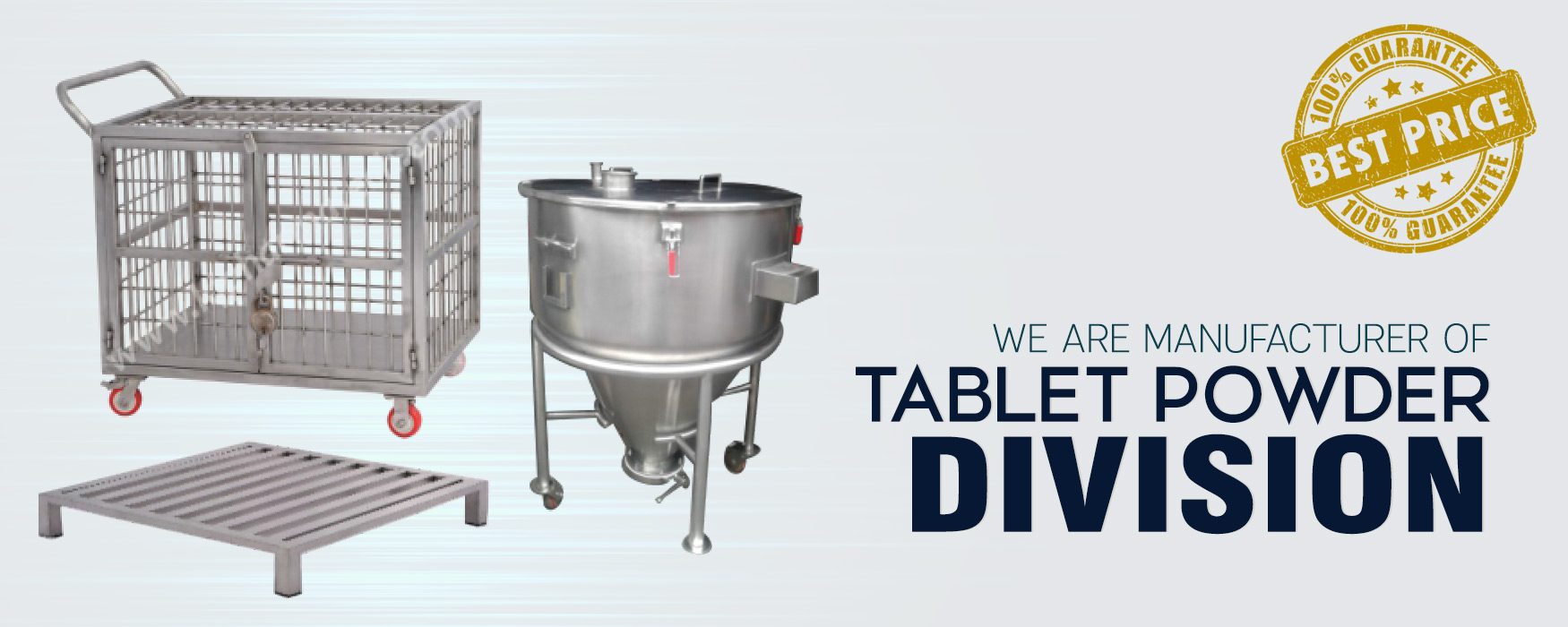 tablet powder division manufacturer
